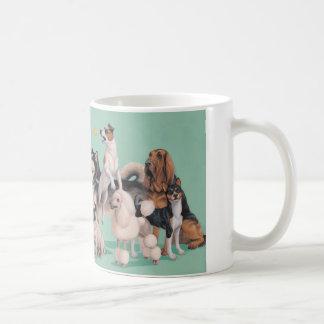 Caneca De Café Diversidade da raça do cão