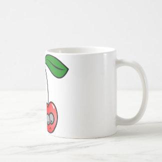Caneca De Café Divertimento das cerejas