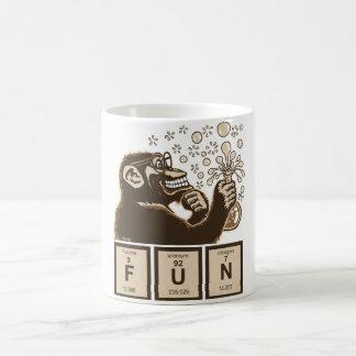 Caneca De Café Divertimento descoberto macaco da química