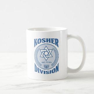 Caneca De Café Divisão Kosher