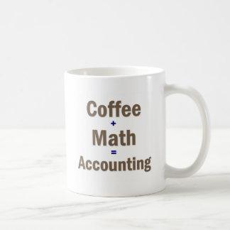 Caneca De Café Dizer engraçado da contabilidade