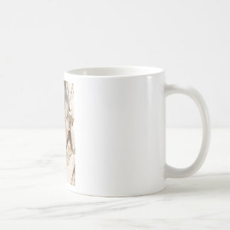 Caneca De Café Do abstrato ascendente próximo do detalhe da