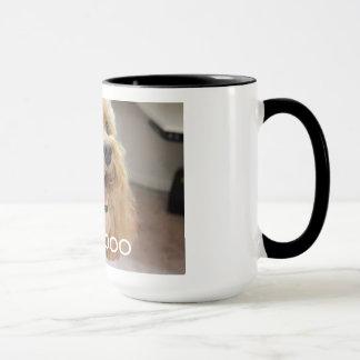 Caneca de café do amante de Cockapoo!