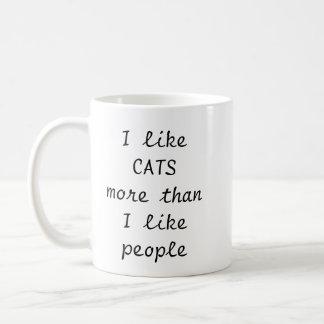 Caneca de café do amante do gato