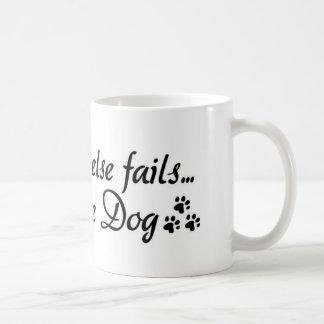 caneca de café do amor do cão