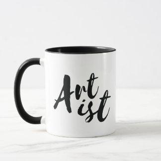 Caneca de café do artista