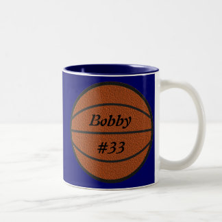 Caneca de café do basquetebol