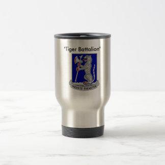 Caneca de café do batalhão do tigre