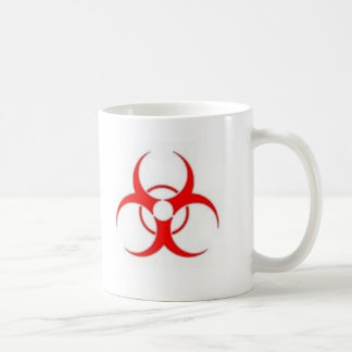 Caneca de café do Biohazard