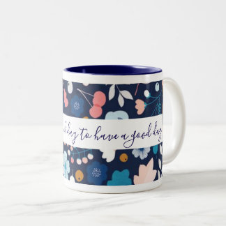 Caneca de café do bom dia