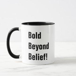 Caneca de café do bumbum corajoso primeira