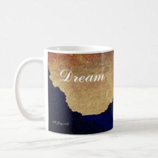 """Caneca De Café Do """"caneca do por do sol do ouro oceano"""" por toda"""