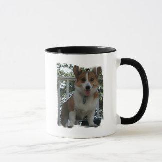 Caneca de café do cão de filhote de cachorro do