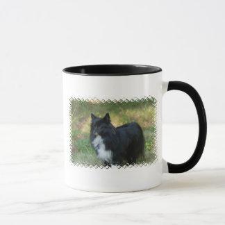 Caneca de café do cão de Pomeranian