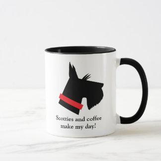 Caneca de café do cão do Scottie