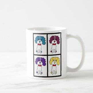 Caneca de café do cão - Spaniel
