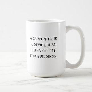 Caneca de café do carpinteiro