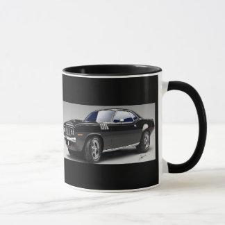 Caneca de café do carro do músculo de 71 Barracuda