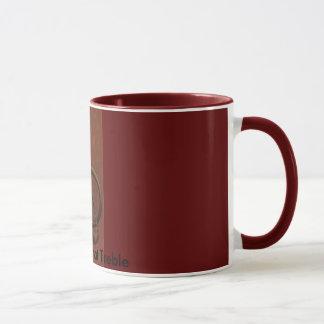 Caneca de café do Clef de triplo