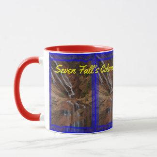 Caneca de café do Colorado de sete quedas!!