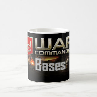 Caneca de café do comandante Base da guerra