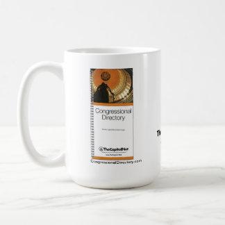 Caneca de café do congresso do diretório