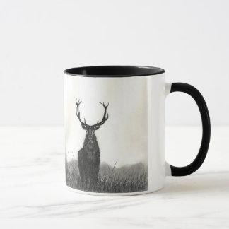 Caneca de café do contraste dos animais selvagens