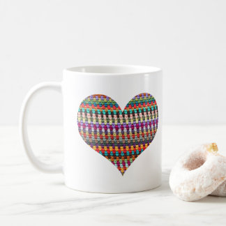 Caneca de café do Crochet - caneca do Crochet