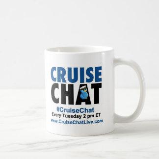 Caneca de café do #CruiseChat