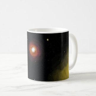 Caneca de café do design de espaço