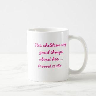 Caneca de café do dia das mães