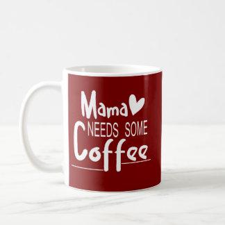 Caneca de café do dia das mães do Mama Necessidade