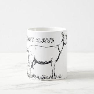 Caneca de café do escravo da cabra
