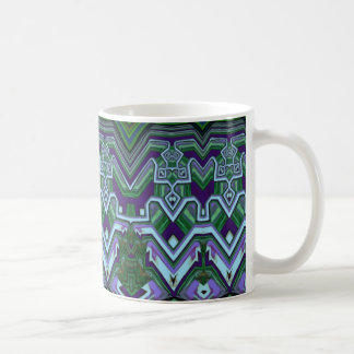 Caneca de café do estilo do art deco