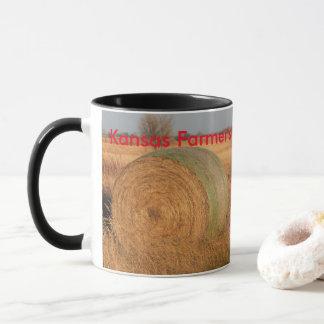 Caneca de café do fazendeiro de Kansas