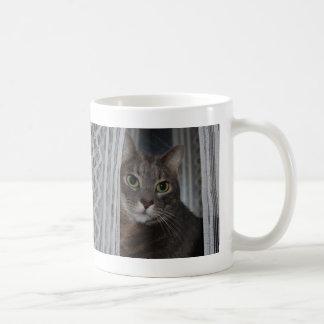 """Caneca De Café Do """"foto bonita feita sob encomenda do gato da luz"""