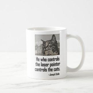 Caneca de café do gatinho do gato do ponteiro do