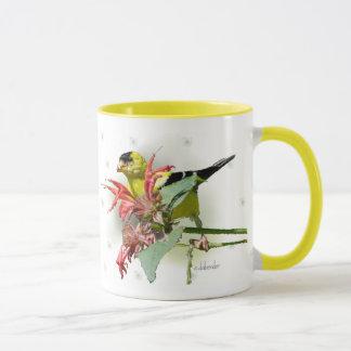 Caneca de café do Goldfinch