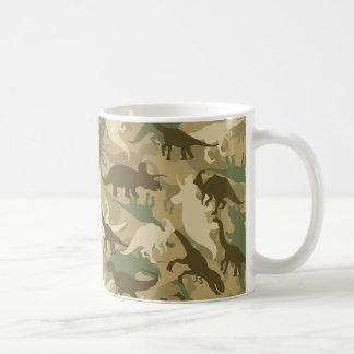 Caneca de café do impressão do dinossauro da