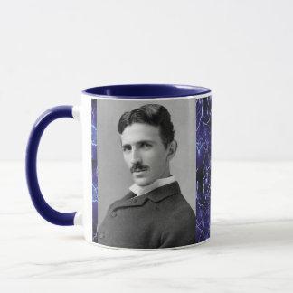 Caneca de café do inventor de Nikola Tesla
