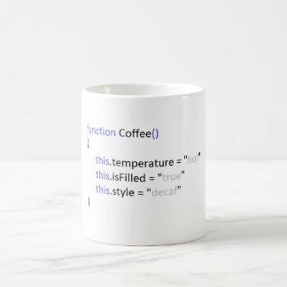 Caneca de café do Javascript