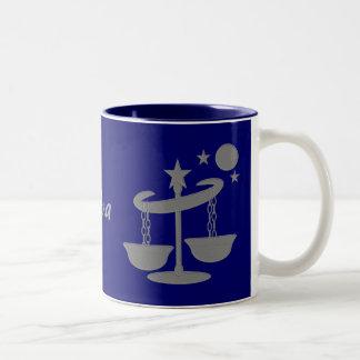 Caneca de café do Libra