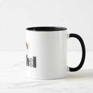 Caneca de café do logotipo de Soshel