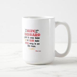 Caneca de café do marido & da esposa