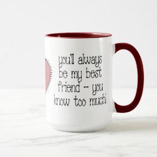 Caneca de café do melhor amigo