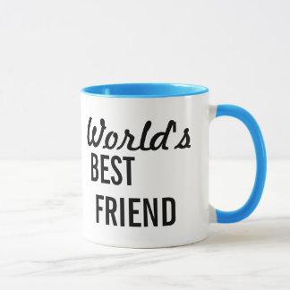 Caneca de café do melhor amigo do mundo