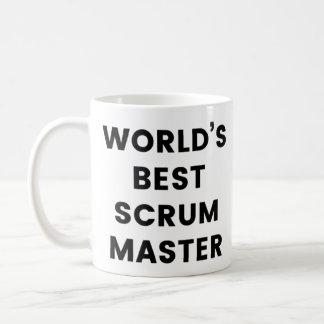 Caneca de café do mestre do scrum do mundo a