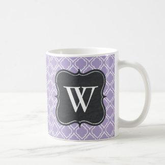 Caneca de café do monograma