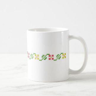 Caneca De Café do motivo popular do teste padrão de slovakia sym