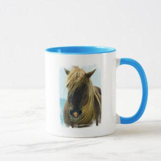 Caneca de café do mustang